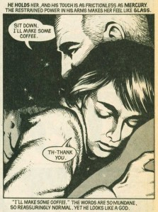 From Miracleman/Marvelman (1985) by Alan Moore and Garry Leach. Anyone remember which issue this is from?